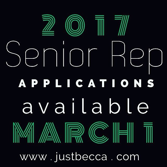 Senior Rep App