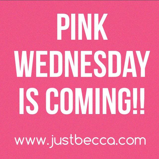 Pink Wednesday Sale